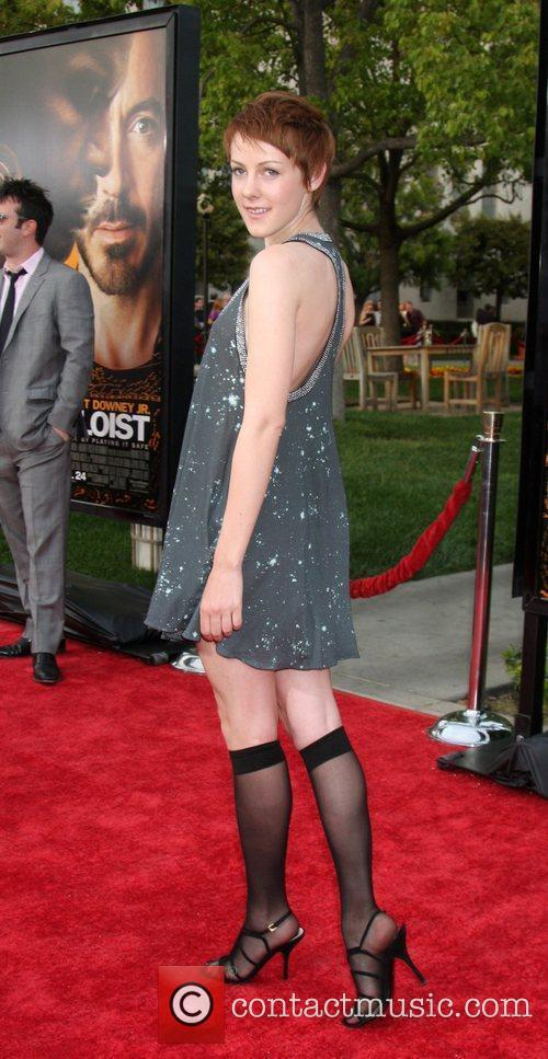 Premiere of 'The Soloist' held at Paramount Studios...