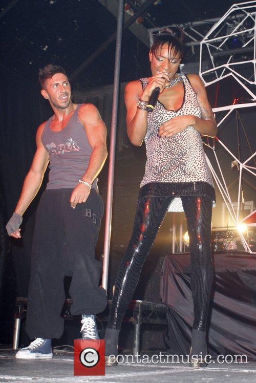 Sonique  preforming live at Heaven to promote...