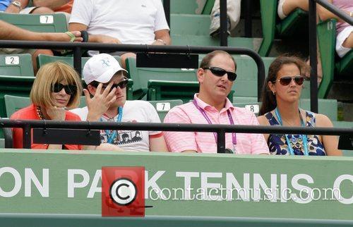 Anna Wintour and Mary Jo Fernandez Celebrities watch...