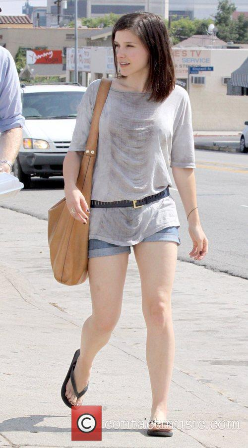Sophia Bush out for lunch at Home restaurant...