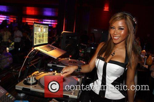 Dj Sophia Lin Spins At Aura Nightclub 2