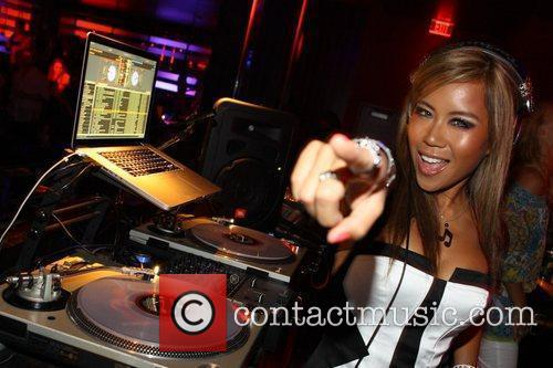 Dj Sophia Lin Spins At Aura Nightclub 7