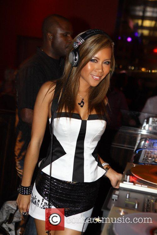 Dj Sophia Lin Spins At Aura Nightclub 3