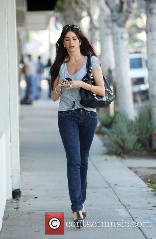 Sofia Vergara out and about in Bel Air...