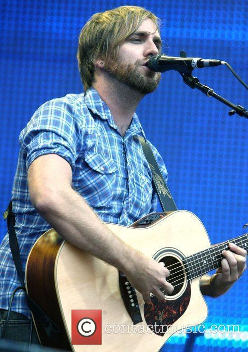 Josh Pyke The 'Sound Relief' music festival at...