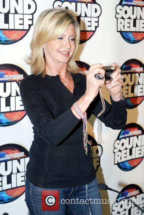 Olivia Newton John Press conference for the 'Sound...