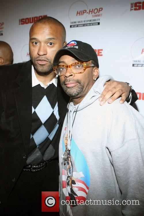 Londell McMillan and Spike Lee Russell Simmons and...