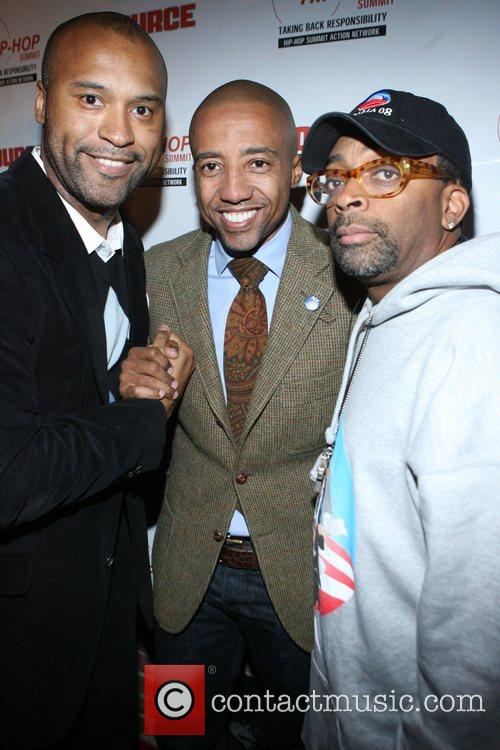 Londell McMillan, Kevin Liles, and Spike Lee Russell...