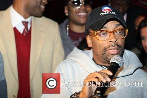 Spike Lee Russell Simmons and Spike Lee co-host...