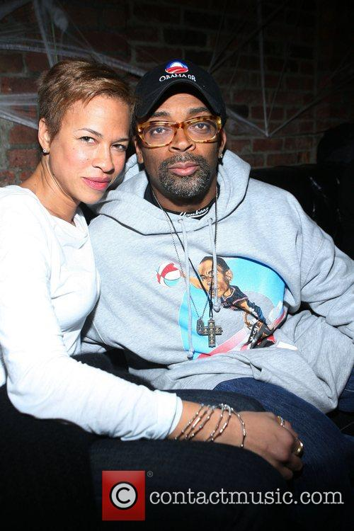 Tanya Louis Lee and Spike Lee Russell Simmons...