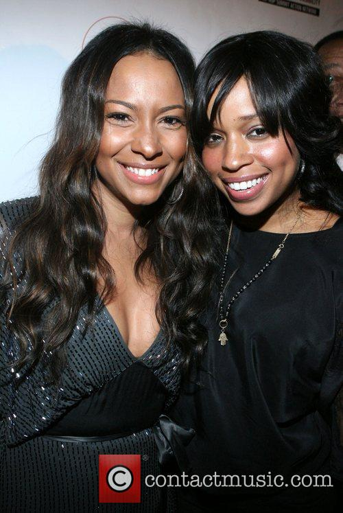Valiesha Butterfield and Mashonda Russell Simmons and Spike...