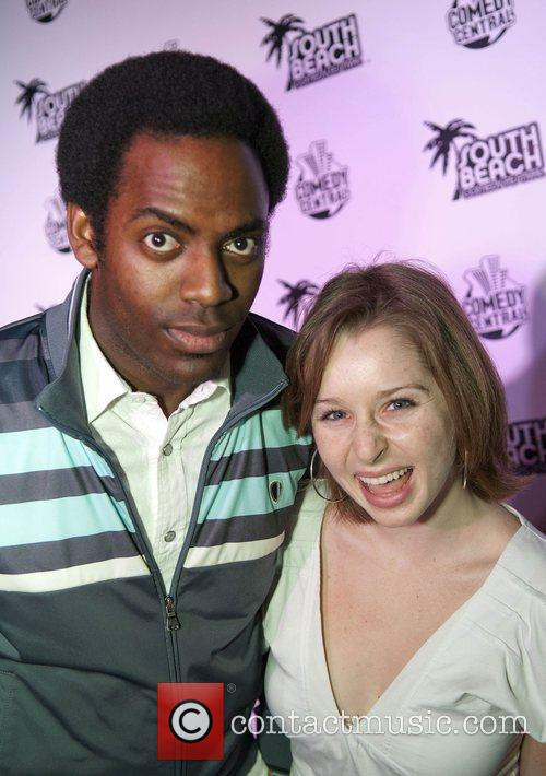 Comedian Baron Vaughn and Allison McGuire The South...