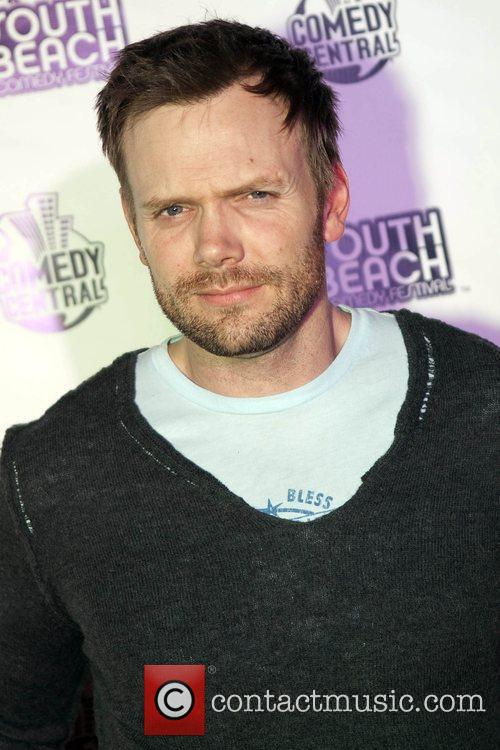 Comedian Joel McHale The South Beach Comedy Festival...