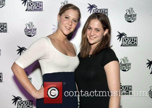 Comedienne Amy Shumer and sister Kim Shumar The...