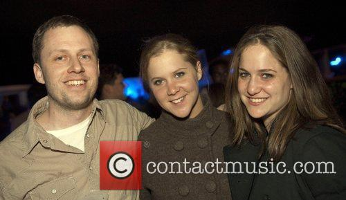 Ian Stearns, comedienne Amy Shumer and Kim Shumer...