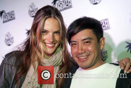 Victoria's Secret Supermodel Alexandra Ambrosio and Jerome Duran...