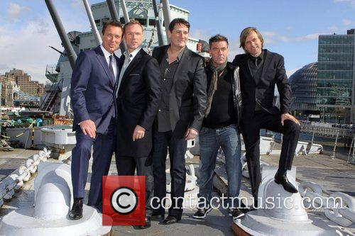 Photo call for Spandau Ballet reformation held on...