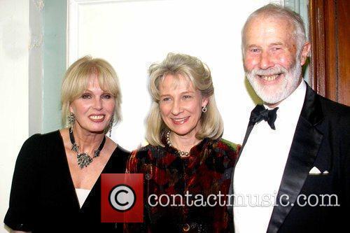 Joanna Lumley, Birgitte, Duchess of Gloucester and Sir...
