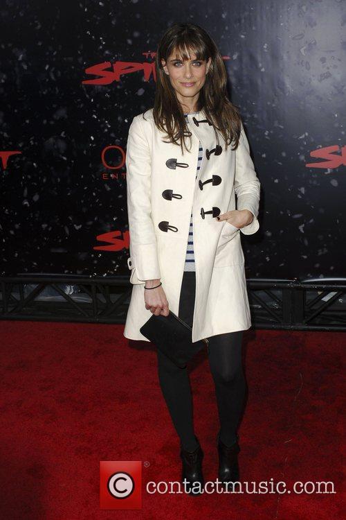 Amanda Peet Los Angeles movie premiere of 'The...