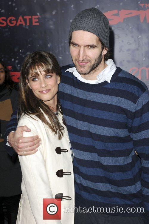 Amanda Peet and David Benioff Los Angeles movie...