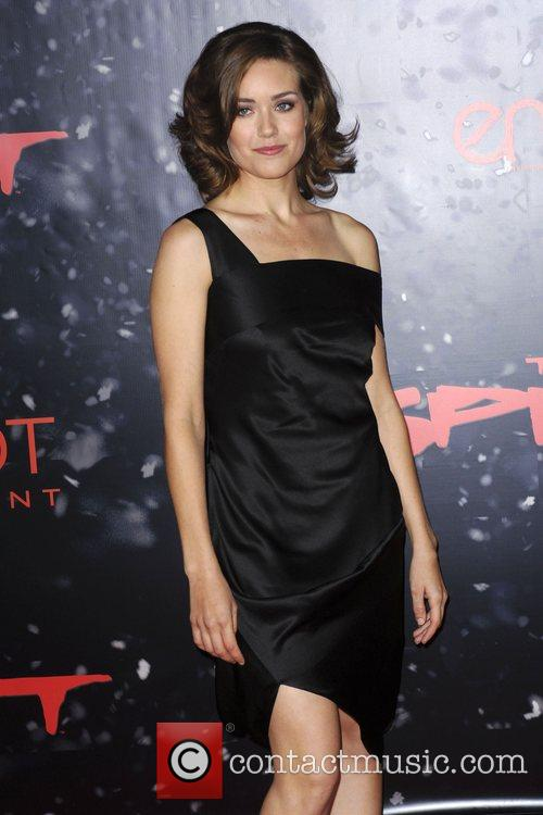 Los Angeles movie premiere of 'The Spirit' shown...