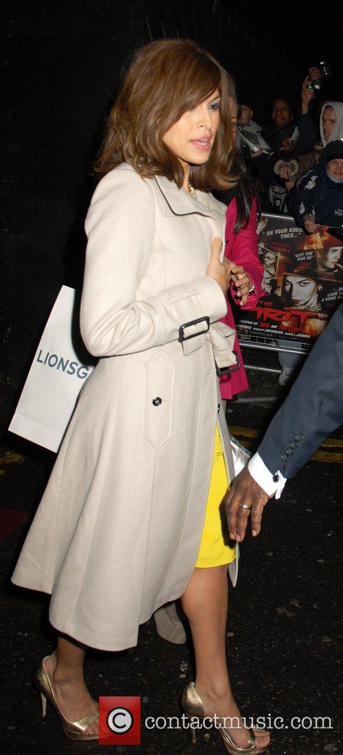 Eva Mendes The Spirit - launch party held...