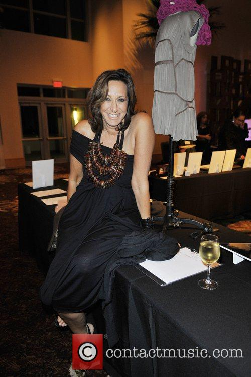 Donna Karan at the Sprituality For Kids Charity...