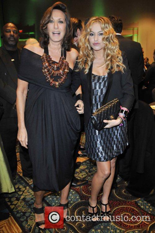 Donna Karan and Paulina Rubio at the Sprituality...