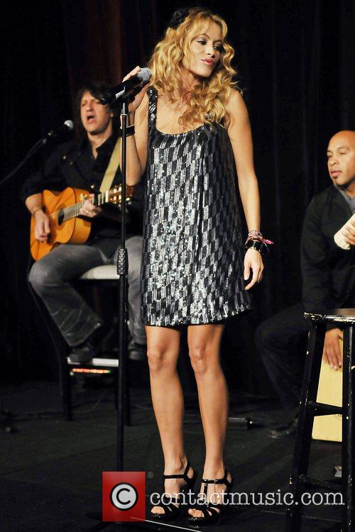 Paulina Rubio takes to the stage at the...