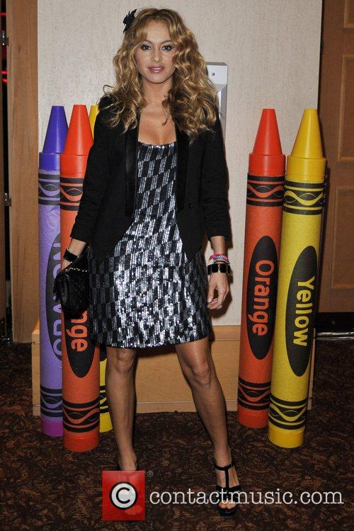 Paulina Rubio at the Sprituality For Kids Charity...
