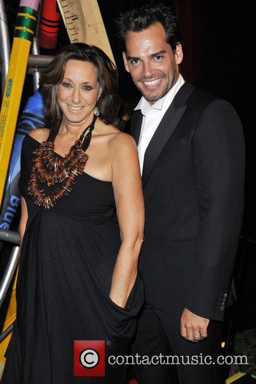 Paulina Rubio and Christian de la Fuente at...