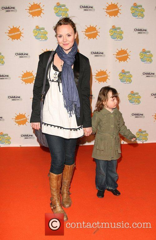 Charlie Brooks with her daughter Kiki New musical...