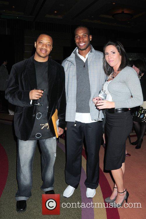 Ron Evans, Philadelphia Soul player Sean Scott and...