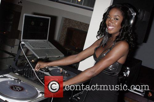 DJ Guest Sports Illustrated Swimsuit 2009 Issue launch...