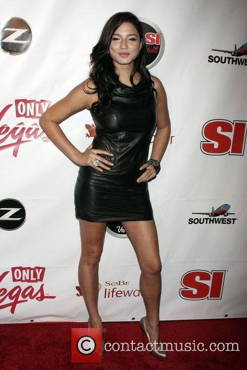 Jessica Gomes Sports Illustrated Swimsuit 2009 Issue launch...