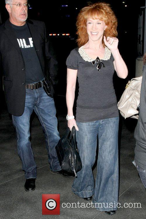 Arriving at the Staples Center for 'The Circus:...