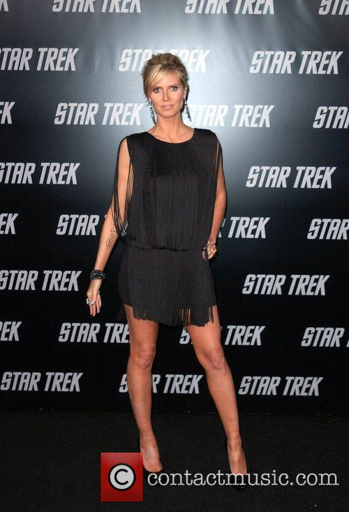 Heidi Klum and Star Trek 3