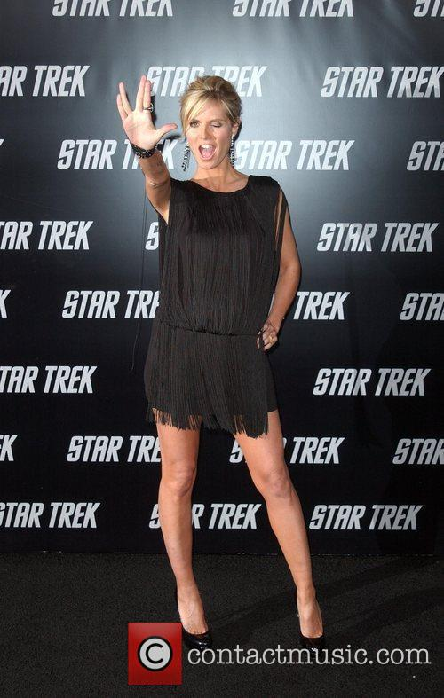 Heidi Klum and Star Trek 1