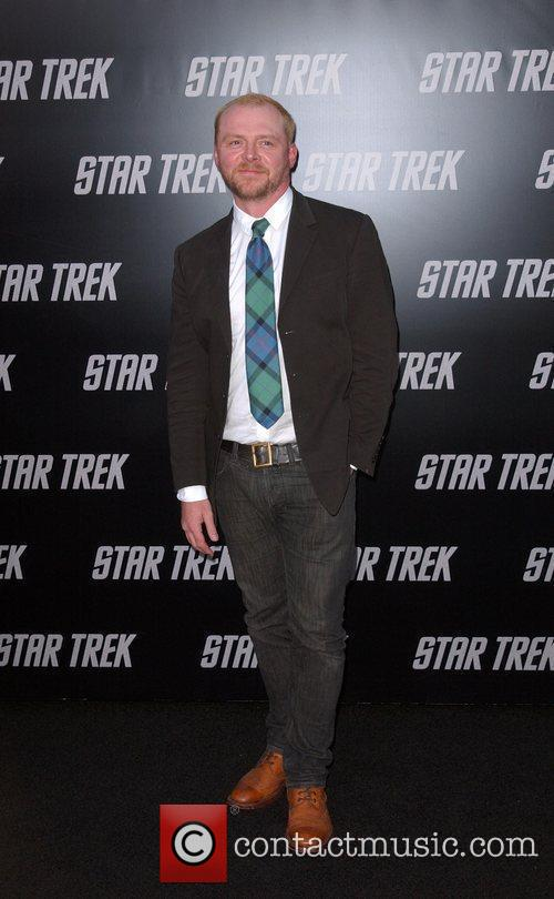 Simon Pegg and Star Trek 3
