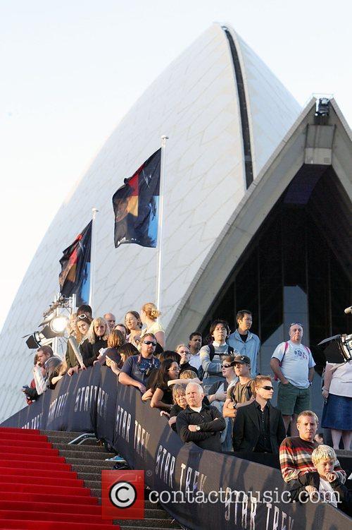 Atmosphere World premiere of J.J. Abrams 'Star Trek'...