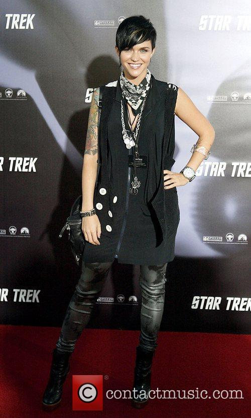 Ruby Rose World premiere of J.J. Abrams 'Star...