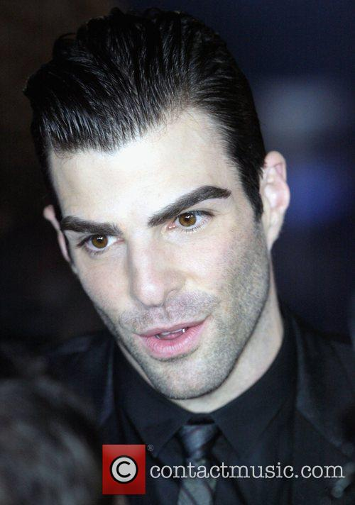 Zachary Quinto World premiere of J.J. Abrams 'Star...