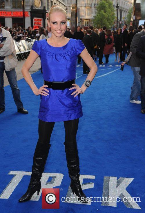 Camilla Dallerup and Star Trek 3