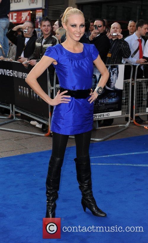 Camilla Dallerup and Star Trek 2