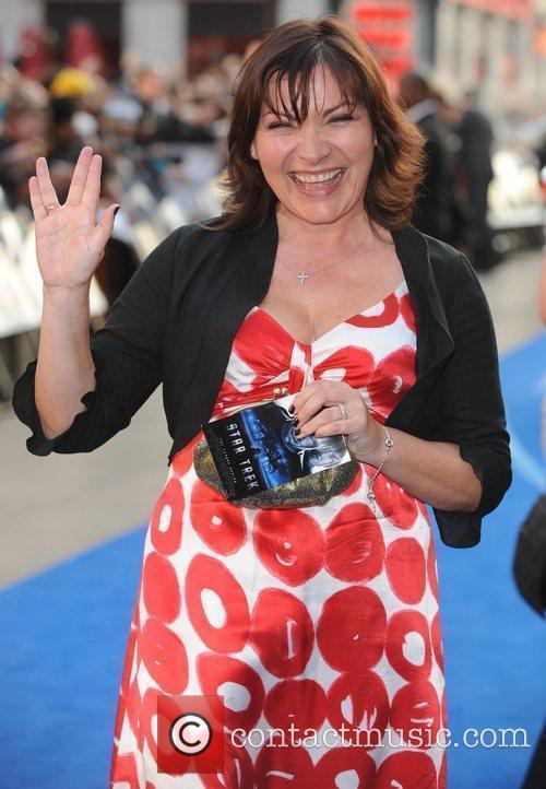 Lorraine Kelly and Star Trek 3
