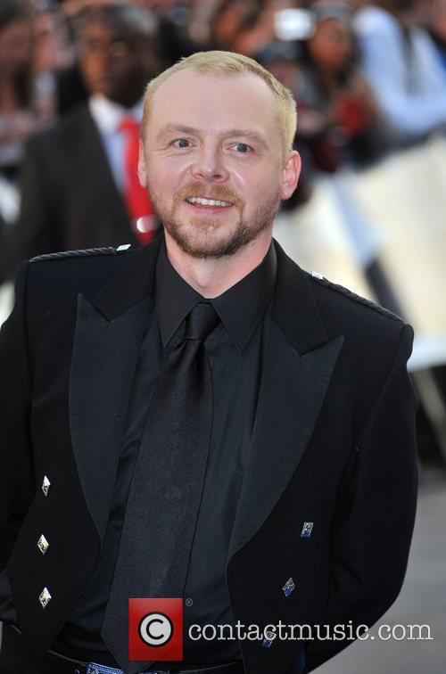 Simon Pegg and Star Trek 4