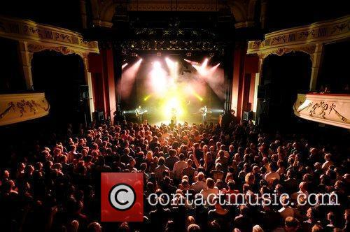 James Walsh performs at the Shepherds Bush Empire...