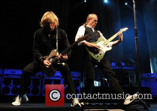 Status Quo perform at the Olympia theatre