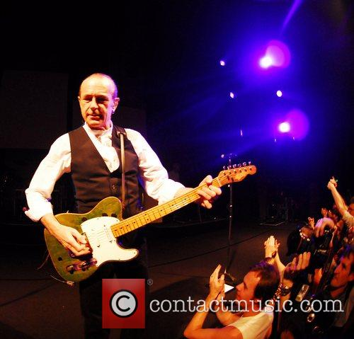 Status Quo perform live at Harrogate International Centre