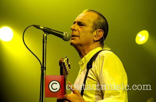 Francis Rossi of Status Quo performing in concert...